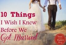 Marriage / Marriage advice and how to improve relationships