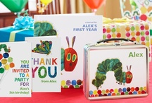 For Very Hungry Caterpillars / Love Eric Carle's The Very Hungry Caterpillar? We do! This board is full of inspiration for throwing a Very Hungry Caterpillar party, complete with personalized invitations, thank you cards, placemats, and more from MyChronicleBooks.com. / by Chronicle Books