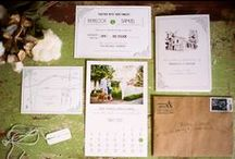 Wedding: Paper Products / Weddind ideas for invitations, programs, signage, and paper flowers