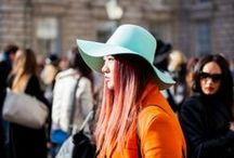 London Fashion Week AW14 - Street Style