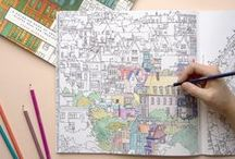 The Coloring Club / Coloring isn't just for kids anymore. Come join our coloring club!