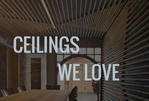 Ceilings We Love / Follow Esteban Interiors on Facebook and Instagram too.