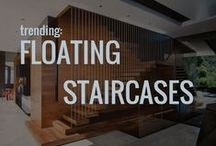 Trending: Floating Staircases / Follow Esteban Interiors on Facebook and Instagram too.