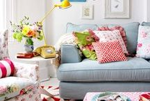 Eclectic Home Decor / A board devoted to eclectic home decor with a mixture of styles, colors, patterns, and time periods.