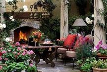 Outdoor Rooms / Outdoor rooms are my favorite!  #outdoorrooms #porches #southernporches