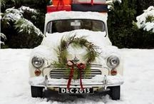 Christmas Decorating / Christmas Decor using lots of fresh greenery and handmade items.