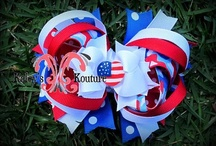 Kaley's Kouture Fabric Flower, Bows, Sewn Gifts / Kaley's Kouture Fabric Flower, Bows, Sewn Gifts