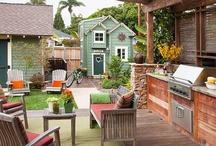 Outdoor living / by Rachel Howell