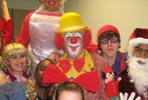 Great gigs / Pictures from some of the parties where I've worked recently.  You can see more pictures at www.ubitheclown.com.  #clown