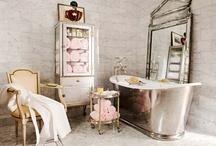 Master Bath Inspirations / cottage bathrooms shabby chic baths