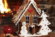 gingerbread houses etc.