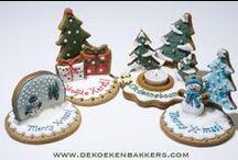 christmas cakes - cookies