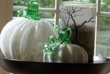 White Decor for Autumn / Decorate with white for autumn