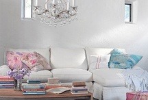 Living Room *love* / Pretty living rooms shabby chic cottage style living rooms