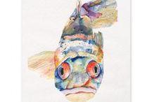 poissons / by la galerie imaginaire