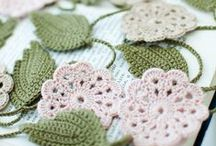Crochet-Applique / small things made with yarn / by Carey Higgs