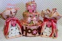 Diaper Cakes and Goodies / by Jillian Stapleton