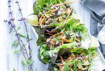 Vegan + Vegetarian / Vegan and vegetarian main course recipes. Great meatless dinner ideas!