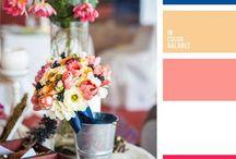 Farbkonzepte / Wie stellst du dir das Farbkonzept deiner Hochzeit vor? Schwierige Frage?! Inspirationen findest du hier...  #hochzeit #freietrauung #farbkonzepte #hochzeitsfarben #traulina