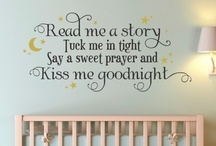 In the Nursery / by WallQuotes.com