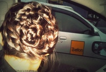 Braid, hair, up do, curls