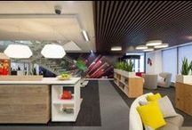 Office inspiration / Office architecture and interior design that inspires a creative and productive working environment