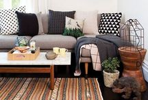 Decorating Inspiration / Boho chic  Urban  / by Sam Jø