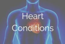 Heart Conditions / Cardiovascular diseases and stroke are serious conditions that affect millions of people in the U.S. Millions more live with congenital heart conditions. Learn more about one of the most important organs in our bodies, and take care of those tickers!