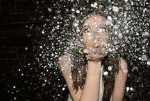conffeti glitter reflections