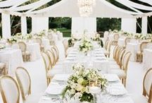 Reception / Wedding design & wedding inspiration for luxury weddings