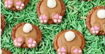 Easter / Pins that will make Easter more festive, more delicious and a bit more crafty. Easter Decorations | Easter Ideas | Easter Basket Ideas | Easter Dinner | Easter Dinner Ideas | Easter Crafts for kids