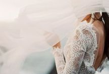 The Bride / Details and inspiration for brides - wedding dresses, hair ideas, veils and jewelry