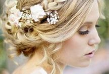 Here Comes the Bride / Beautiful bridal hair styles from the Hairdressers Journal archives to inspire you and your clients - everything from elegant updos to cute curls and vintage volume.  Get inspired every month by subscribing: bit.ly/pinterestsubs / by Hairdressers Journal