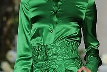 Rock GREEN / Green symbolizes nature and it is the most popular color. It is the easiest color on the eye and can improve vision. It is a calming, refreshing color. Add to it your wardrobe and maximize your style.  Get your customized look! http://www.ragazzabazaar.com/your-style.html / by Ragazza Bazaar