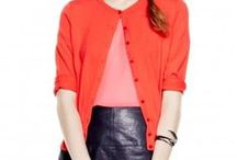 Rock CORAL / The perfect seasonal transition color. From Summer to Fall, Orange tones and shades make for a fantastic bold statement and can be worn year round. Get your customized look! http://www.ragazzabazaar.com/your-style.html / by Ragazza Bazaar