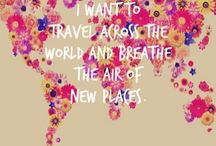 Places I want to go
