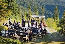 Mountain Weddings / Mountain weddings ceremonies, shots of the couple, and inspiration for rustic luxury weddings