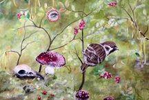 Birds... just birds / All kinds of birds