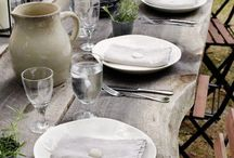 Tablescapes / Tablespaces