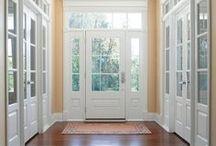 Door, transom & sidelights...