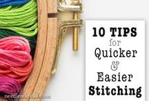 Mary Corbett Stitching Tips