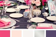 Colour Inspiration / Colour Inspiration for wedding design colour palettes