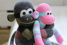 Sock Monkey / How to make a sock monkey