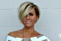Hairstyles - Short/Medium / To me this is Medium Length hair but to others it's Short Hair