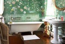 Casas de Banho - Bathroom / Ideias de decoração para Casa de Banho.  Veja mais: http://blog.tralhaodesigncenter.com/casa-de-banho/