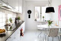 Cozinha - Kitchen / Ideias de decoração para Cozinha - Kitchen Veja mais: http://blog.tralhaodesigncenter.com/cozinha/