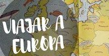Viajar a Europa / Consejos, ideas, experiencias e información práctica para organizar el mejor viaje a Europa.  #viajes #Europa #organizarviaje #travel #viajaraeuropa #mochileros #viajarenfamilia #consejos