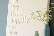 DIY Love / A list of crafts I would LOVE to attempt or have successfully created :)