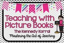Teaching with Picture Books / ELA, Math, Science, and Social Studies can all be enhanced with the use of picture books.  Picture books are interesting and informative for children of all ages.