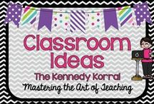 Classroom Ideas / Elementary classroom ides to make your life easier in and out of the classroom.